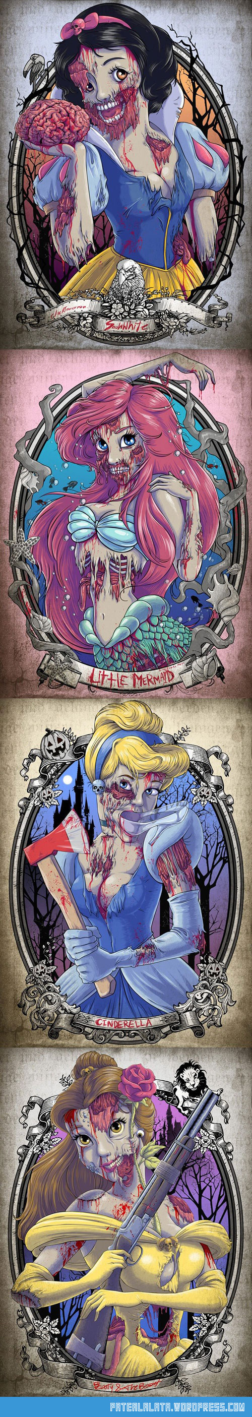 cool-zombie-Disney-princesess