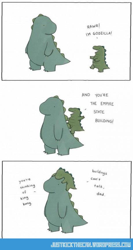 funny-dinosaur-Donkey-Kong-cartoon