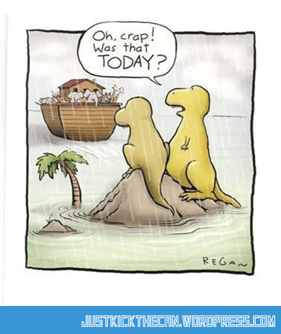 funny-dinosaur-Noahs-arc-rain