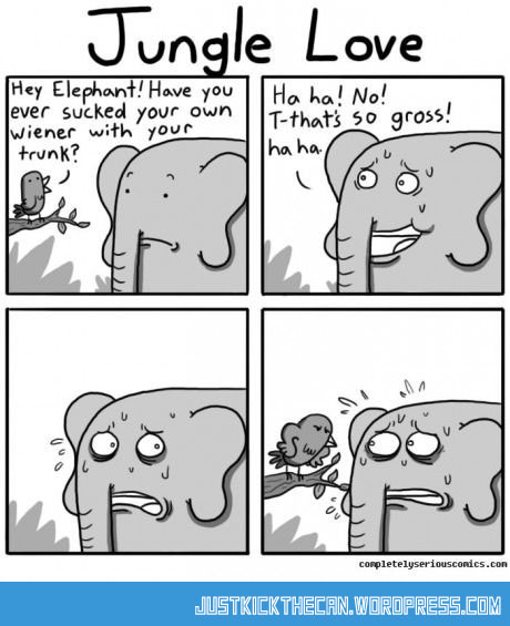 funny-elephant-trunk-suck-comic