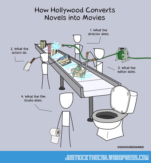 funny-hollywood-novel-into-movies
