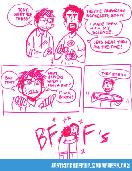 funny-Ironman-Hulk-friend-bracelet