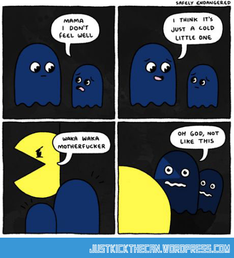 funny-Pac-Man-ghost-family