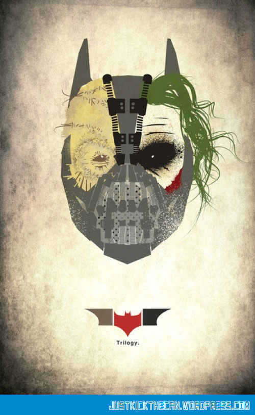 cool-poster-Batman-trilogy