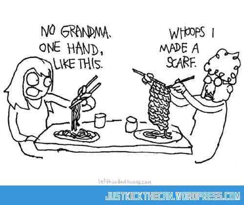 Knitting Humor Cartoon : Just kick the can all fun in one place… page