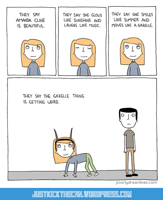 funny-comic-gazelle-girl
