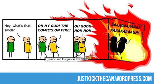funny-comic-on-fire